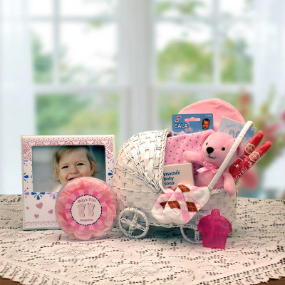 New Arrival Pink Baby Gift