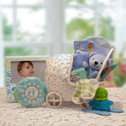 New Arrival Blue Baby Gift