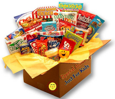 Kids Blast Care Package