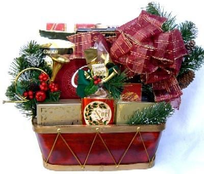 Little Drummer Christmas Gift Basket