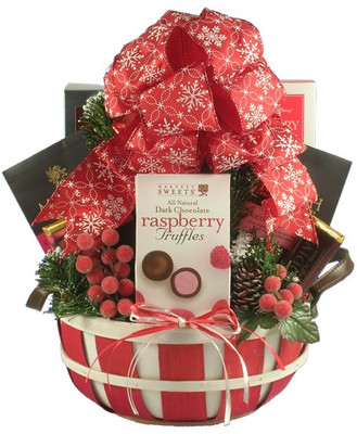 Sweet Merry Christmas Gift Basket