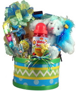 Easter Rabbit Gift Basket For kids
