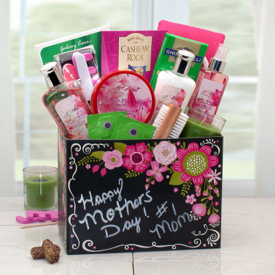 Exotic Lily Spa Mother's Day Gift Box