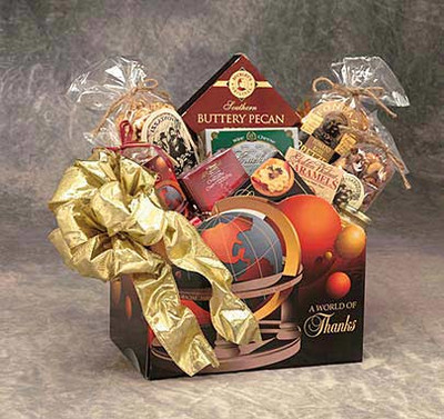 Thank you food gift box