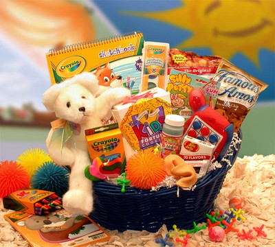 Fun And Treats Kids Gift Basket