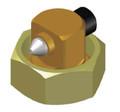 ITW Dynatec Right Angle Single Bead Nozzle for Mod-Plus Marathon
