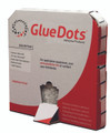 "Glue Dots, Box of 4000, 0.5"", Low Profile"
