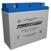 12 Volt 17.0AH SLA Battery