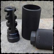 Kineti-tech Muzzle brake with sound redirector