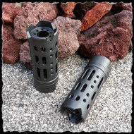 Steel Muzzle Brake Compensator Multi Ported