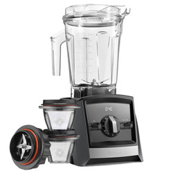 Vitamix Ascent 2300i Series Blender In Grey with 225ml Blending Bowl Starter Kit
