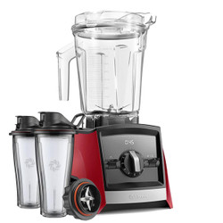 Vitamix Ascent 2300i Series Blender In Red with 600ml Blending Cup Starter Kit