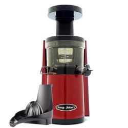Omega VRT452 HDR Slow Juicer in Red at Energise Your Life