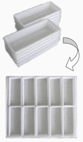 EasyGreen Junior Trays (pack of 10)