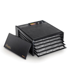 Excalibur 5 Tray Dehydrator Black with Timer