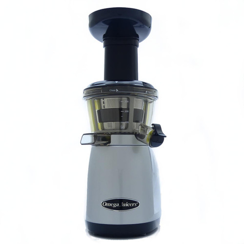 Omega Vert VRT 350 HD Juicer in Silver