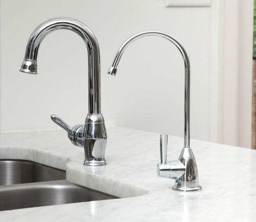 Aquasana AQ-4601 Premium Under Sink Water Filter System Chrome