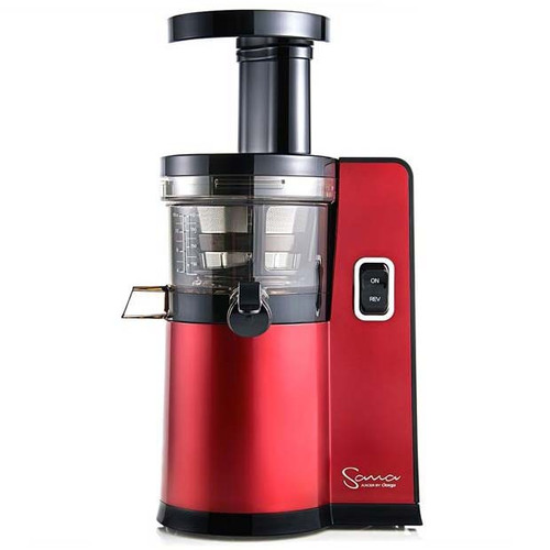Omega Sana EUJ-808 Juicer in Red
