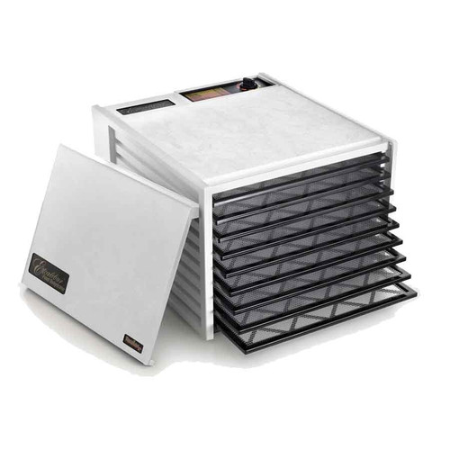 The Excalibur 9-Tray Dehydrator in white