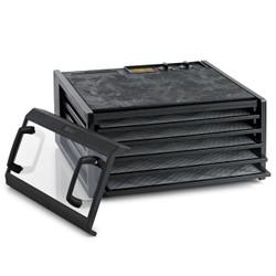 Excalibur 5 Tray Dehydrator Timer Black Clear Door