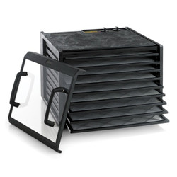 Excalibur 9 Tray Dehydrator Timer Black Clear Door