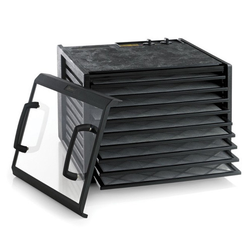 Excalibur 9 Tray Dehydrator Timer Black Clear Door