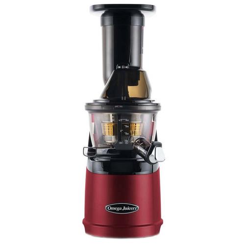 Omega MMV702 Mega Mouth Slow Juicer in Red