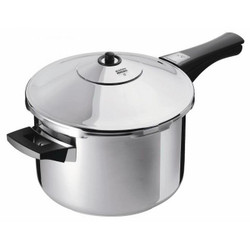 Kuhn Rikon Duromatic Inox 5L Pressure Cooker with Long Handle
