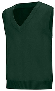 SSM Hunter Green Vest w/ School Logo