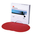 MMM 1106 Red Abrasive Stikit™ Disc, 6 in, P600, 100 discs per roll