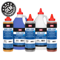 Sure-Coat is a waterborne coating system that provides outstanding flexibility and adhesion for refinishing most leather, vinyl, and plastic. OEM Recommended Superior resins provide great adhesion and durability Retains flexibility, will not soften or crack Maintains texture of substrate VOC compliant 1000's of formulas including many OEM matched colors Easy brush or spray application Quick drying Add CROSS-LINKER to resist cleaning chemicals Leather Vinyl Plastic Pint containers 11 colors, 3 clears Coverage of toners: 390-470 sq.ft./gal @ 1 mil DFT  Coverage of clears: 360-500 sq.ft./gal @ 1 mil DFT
