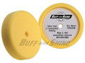 "BFS-3000G 8"" x 2"" Recessed back yellow foam grip pad ""Polishing pad"""