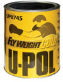 UPL-UP0745 FLYWEIGHT GOLD PREMIUM GRADE LIGHTWEIGHT BODY FILLER, 3 LITER