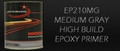 Medium Gray high build epoxy primer with multiple VOC capabilities, depending on activator.