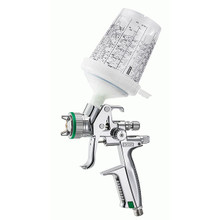 The premium spray gun SATAjet 5000 B sets new quality standards, while painting has become as easy as never before. Being extremely versatile in terms of application distance and inlet pressure, this new high performance spray gun is leading the way. Now, painters have the possibility to set pressure and distance as required by the paint to be applied, the climatic conditions and the work method - to achieve perfect finishes.