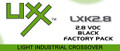 Black Factory Pack  The LIXX System is a 100% Urethane System made to compete in the Light Industrial market. The LIXX System is extremely durable and offers great gloss retention. LIXX is a simple, user friendly, and cost effective system.   COMPONENTS  HLX28                                                     Standard Activator SX60, SX70 or SX80                                  Fast, Medium, Slow, Standard Reducers Mixing Ratio  Mix 4 parts LIXX color with 1 part HLX28 activator. LIXX Series may be reduced as needed prior to application with SX60, SX70 or SX85 standard reducers.