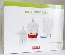 SATA 1012004 RPS CUP.9L FLAT SIEVE 200 CS/40 GREEN SIEVE