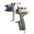 SATA jet X 5500 The Dream Team Newly designed with  Synchronized air flow geometry inside the spray  Gun and nozzle set, ensuring perfect material  Distribution, optimized atomization and  Precise spray fan shapes. All of this combined With material savings and a much softer  Application with a reduced noise level.  Two distinct available spray fan patterns Per nozzle size allows for either enhanced Application control or increased application  Speed, as well as the adaptation of the nozzle  Set to different temperature and air  Humidity levels.