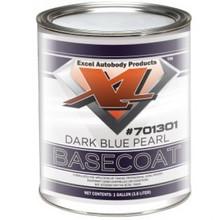 EXCEL 701301-1 BASECOAT DARK BLUR PEARL COAT DX FORD GALLON