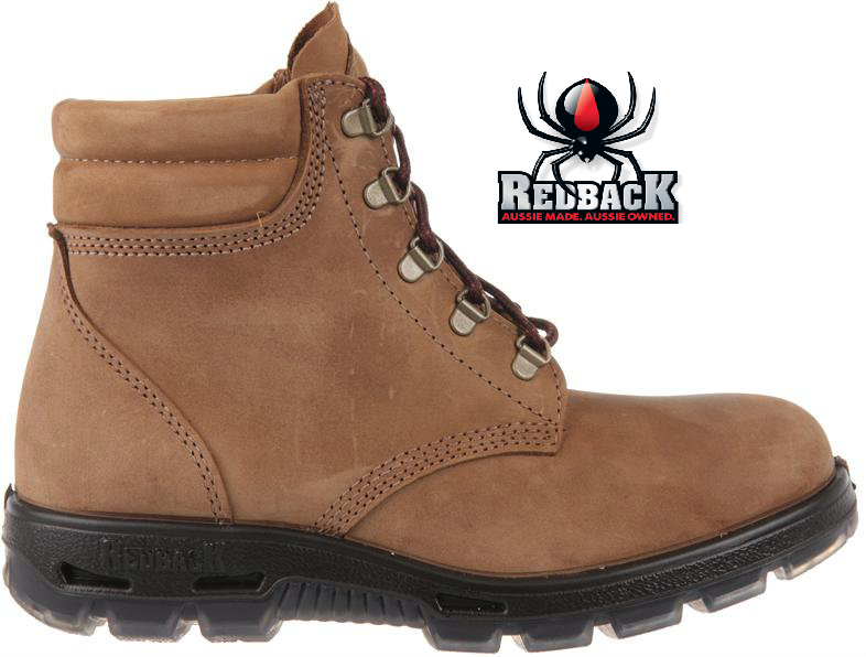 87ce965ab05 Redback Alpine Soft Toe Lace-up Boot Brown UACH - Golders Toowoomba