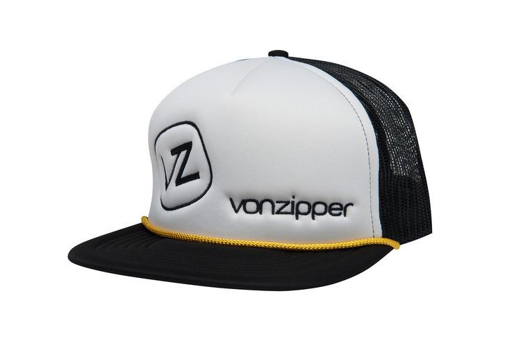 Vonzipper Moby Trucker Cap White - Golders Toowoomba 1507f7d7c02