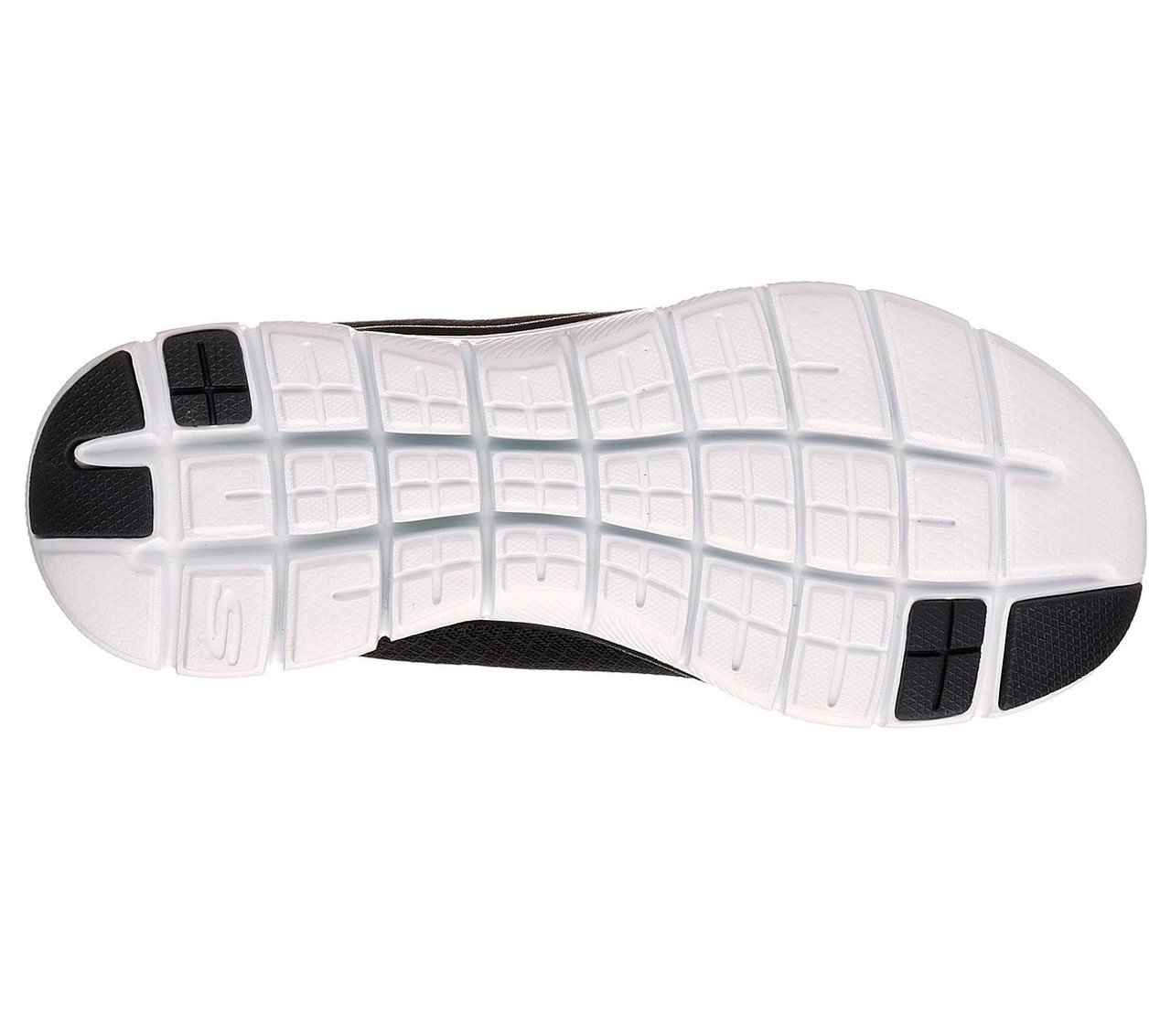 866dd57d3a2e Skechers Ladies Flex Appeal 2.0 Newsmaker Black   White - Golders ...