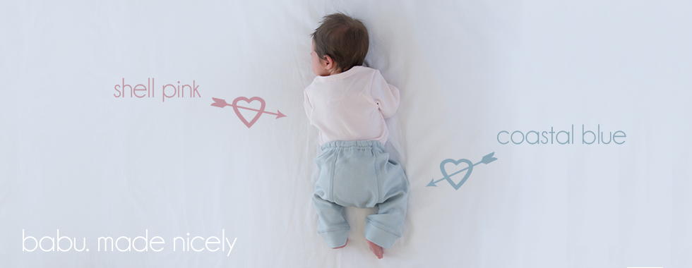 Organic cotton baby clothing and bedding