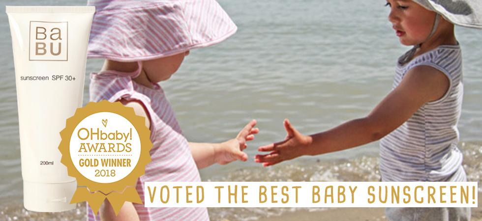 best baby sunscreen
