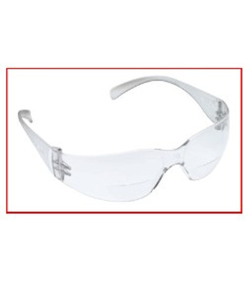 Clear Safety Glasses Polycarbonate Impact Resistant Lenses
