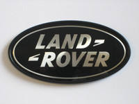 Black Land Rover Oval - DAH500330