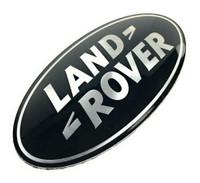 Black Land Rover Oval - DAG500160