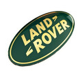 Green Land Rover Oval - DAG100330