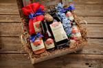 Bluebonnet Sampler Barnwood Gift Box