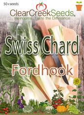 Swiss Chard - Fordhook (50+ seeds)